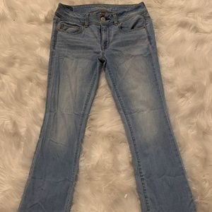 American Eagle Boot Leg Stretch Jeans-SIZE 4